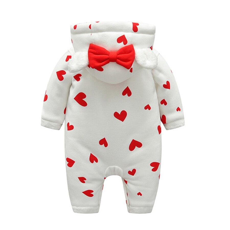 bb17587db IYEAL más mamelucos de bebé de invierno Bebé Niñas Ropa lindo con ...