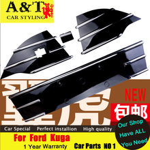 A T car font b styling b font For Ford Kuga Escape Grille trim 2013 2015