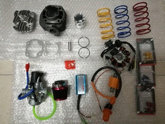 44mm/12mm JOG 60 1P40QMB bobina CDI carburador filtro de aire de primavera