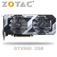 ZOTAC GTX 960 OC 2GB GT960 GTX960 2G D5 DDR5 128 Bit nVIDIA bilgisayar masaüstü Grafik Kartları PCI Express 3.0 bilgisayar Grafik Kartları