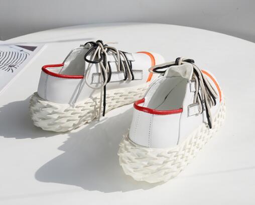 Marque Picture À as Picture Trois Cuir Style Couleurs 2019 Chaussures Démissionnaire As De Pour Lacets Décontractées Zapatos Nouvelle Espadrilles Mode Femme Mujer Luxe rOBwRrqnT