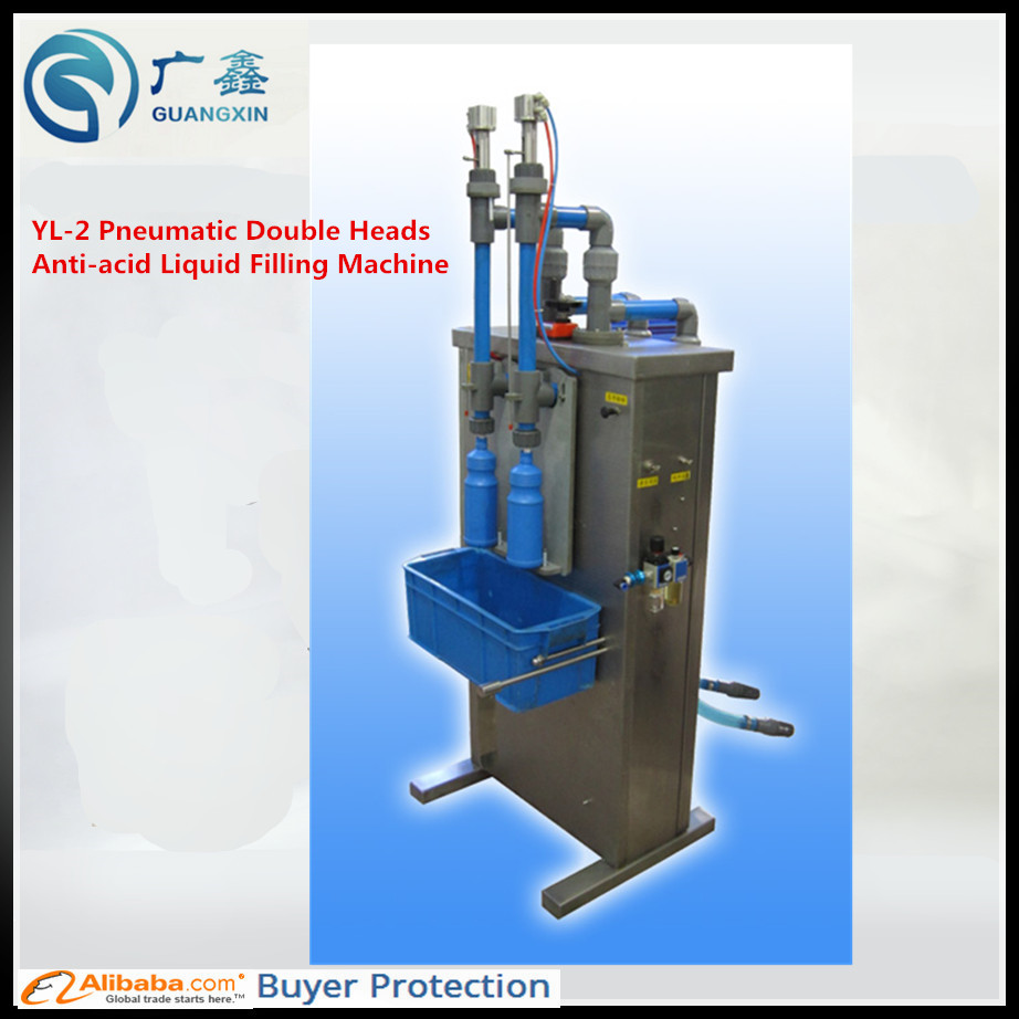 hight resolution of freeshipping for yl 2 pneumatic double heads anti acid liquid filling machine in food processor parts from home appliances on aliexpress com alibaba group
