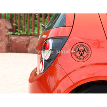 Car-Styling Zomble Outbreak Reflective Car Sticker Fuel Cap Decal For Toyota Ford Chevrolet Volkswagen Hyundai Renault Kia outbreak