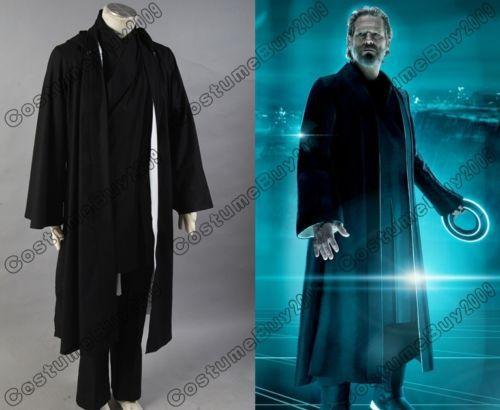 Tron: Legacy Kevin Flynn Cosplay Costume Custom Made Full Set