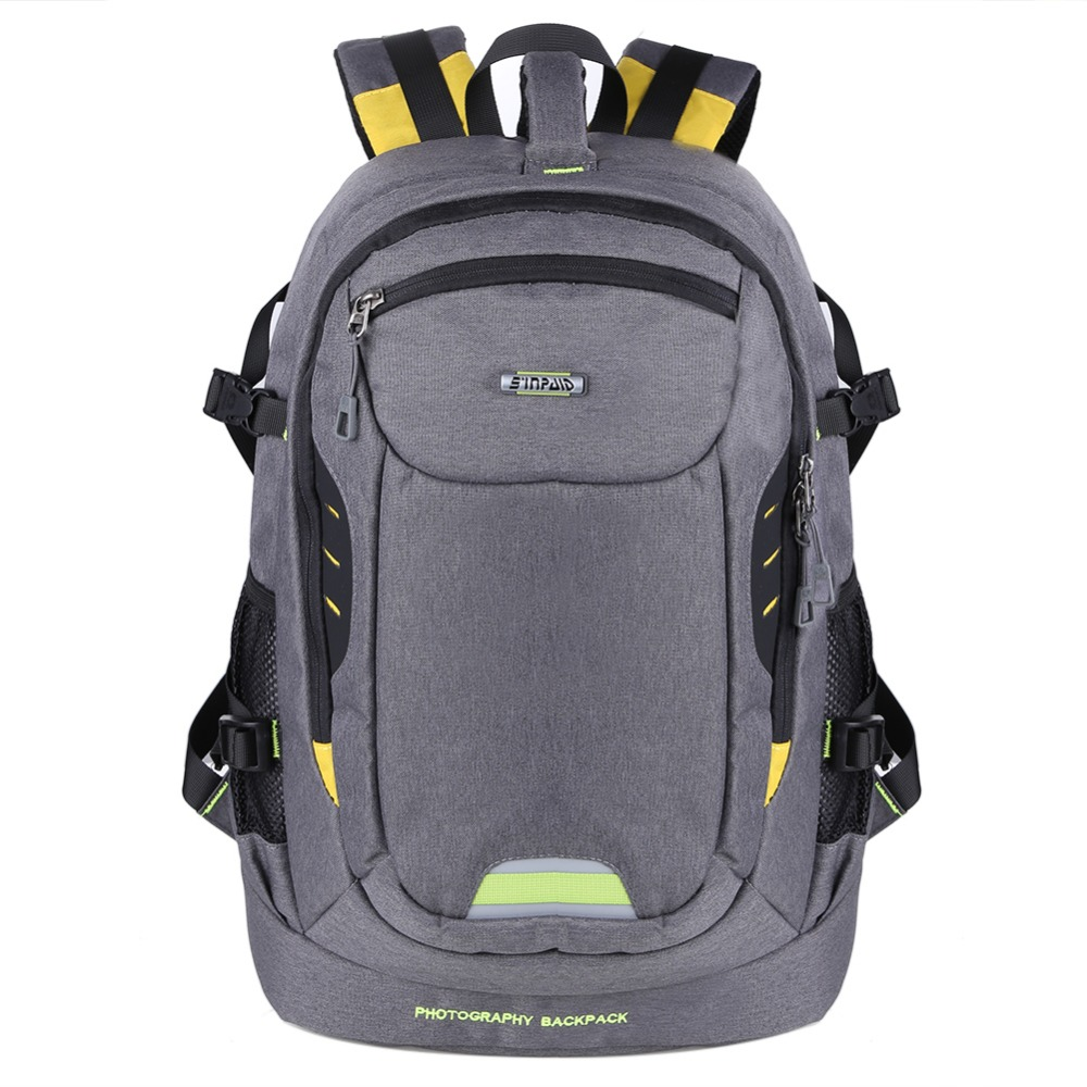 ФОТО Waterproof Oxford Fabric Photography Camera/video 8 Partition Bags Outdoor Backpacks Camera Carry Case For Slr Dslr Camera