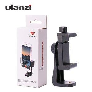 Image 4 - Adaptador de montaje en trípode con Clip para teléfono Ulanzi, soporte Vertical y Horizontal para Disparo de vídeo para iPhone X Samsung One plus