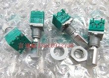 [VICKO] authentic Japanese ALPS potentiometer RK09 B103 B10K Precision Potentiometer with switch 20 Shank Length