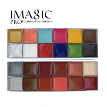 IMAGIC 12  Flash Colors case  Tattoo Face Body Paint Halloween Party Fancy Dress Oil Painting Art Beauty Makeup Tools