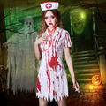 Brands WYB Cosplay costumes In accordance with the special dance bloody Halloween party dance dress uniform nurse