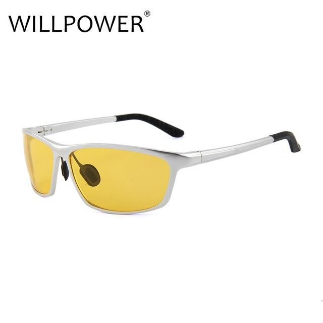 3a5885bd21 WILLPOWER High Quality Polarized Sunglasses Aluminum Magnesium Mirror Leg  men s Sun Glasses 2018