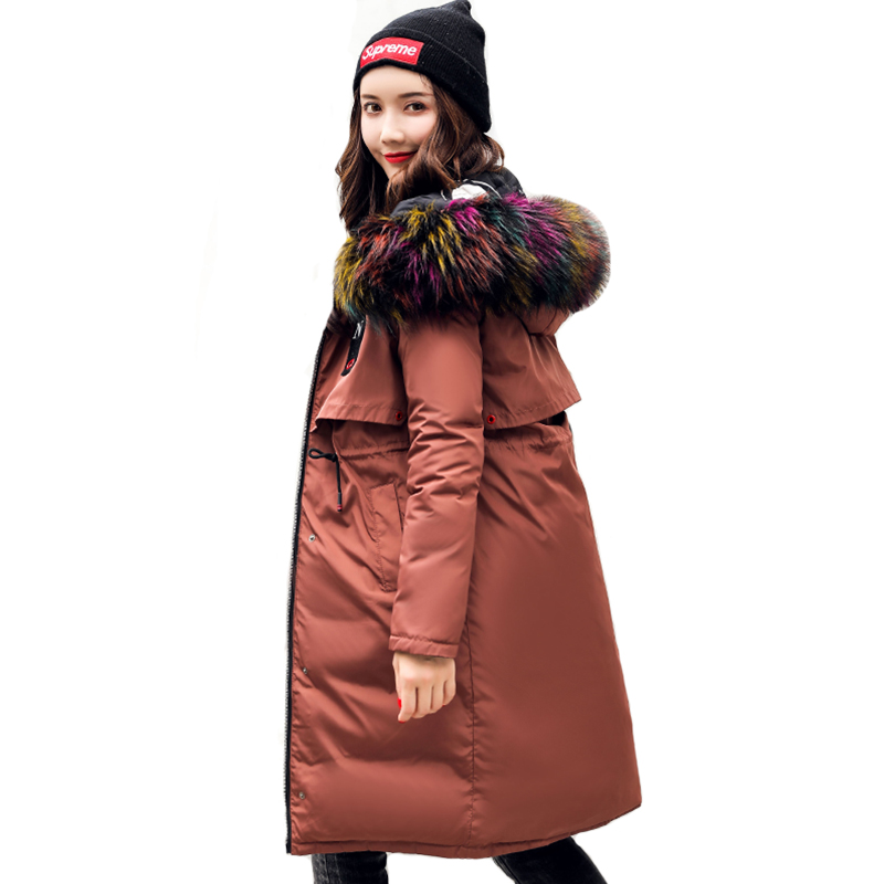 2019 New Arrival Winter Jacket Women Both Two Sides Can Be Wear Female Coat Jacket Long Hooded Warm Cotton Padded Parka Parkas
