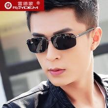 Raydem Marke Polarisierte männer Vintage Sonnenbrille Aluminiumrahmen Sonnenbrille Schutzbrille Eyewear Zubehör Für Männer 2458