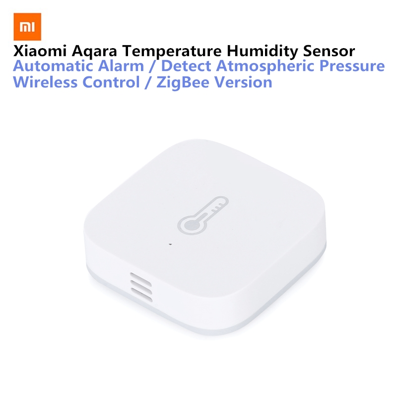 Original Xiaomi AQara Smart Temperature Humidity Sensor ZigBee Wifi Wireless Work With xiaomi smart home mijia Mi home App
