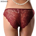 Women's  Panty Briefs Underwear Sexy Lace Panties Seamles Intimates 2016 New Arrival breathable panty Hollow briefs Plus Size