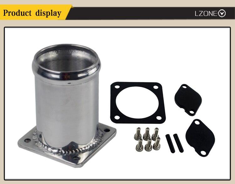 LZONE - EGR REMOVAL kit / EGR Valve blanking plate For LAND ROVER DISCOVERY  2 & DEFENDER TD5 JR-EGR11
