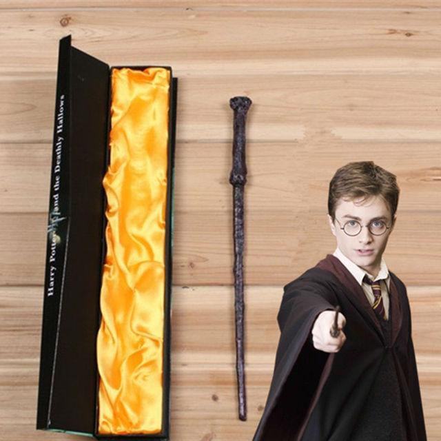 Trucos De Magia Trucos de Magia Creavite Harry Potter Varita Mágica Cosplay Juguetes de Los Niños Regalo de Halloween De Alta Calidad Caja de Embalaje