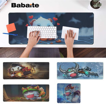 Babaite Vintage Poro League Of Legends Gaming Player desk laptop Rubber Mouse Mat Free Shipping Large Pad Keyboards