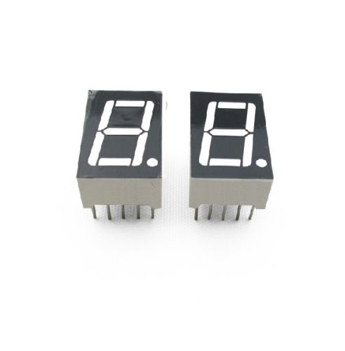 10PCS 0.56 inch 1 digit Blue Led display 7 segment Common cathode NEW