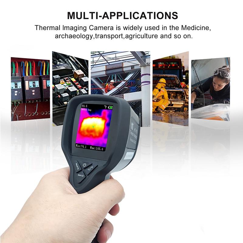 HT-175 точность тепловизор ИК тепловизор ручной инфракрасный термометр ручной цифровой электронный гигрометр