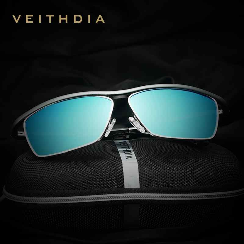 b5b1f47ba5 VEITHDIA Brand Aluminum Magnesium Men s Sun glasses Polarized Mirror Lens  Eyewear Accessories Sunglasses For Men Oculos