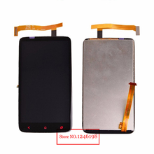 New Tested Working Full LCD Display Touch Screen Digitizer Assembly For HTC One X Plus+ S728e Replacement parts with LOGO