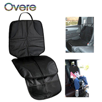 Overe Car Baby Kids Seat Cover Protection Cushion Mat For Mercedes W205 W203 Volvo XC90 S60 XC60 V40 Alfa Romeo 159 156