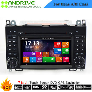 Car DVD Player For Mercedes Benz/Sprinter/W209/W169/W245/Viano/Vito/B-Class/B150/B170/B200/A160/A180 With GPS Navigation Radio image