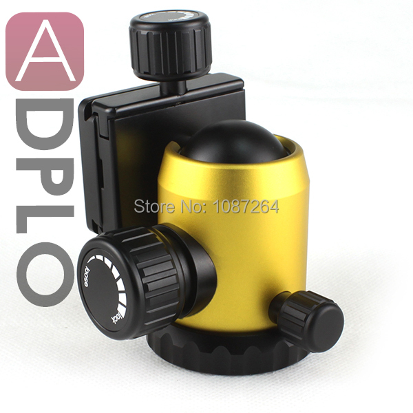 LVG NB-535 Aluminium Professional Tripod Ball Head (yellow) lvg nb 535 aluminium professional tripod ball head black