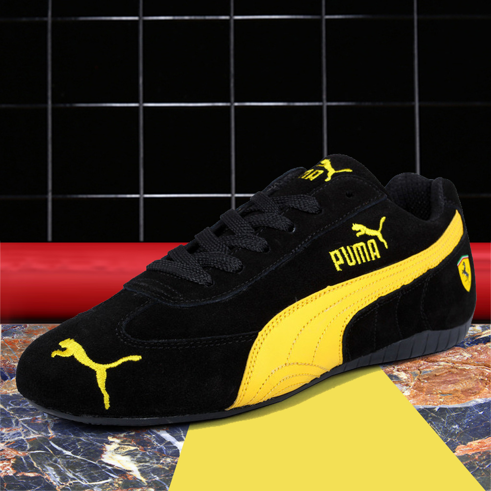 575ca52f072e56 2019 New Arrival PUMA Drift Cat 5 Ultra Sneaker Men s Racing Shoes Leather  Light Weight Low-top Sport Badminton Shoes 36-45