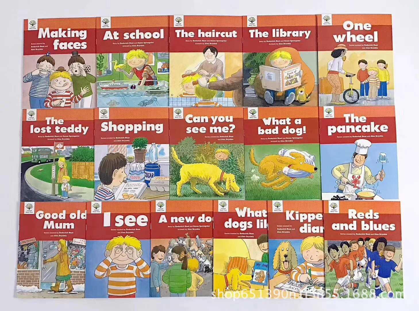 1 ensemble 52 livres 1-3 niveau Oxford histoire arbre anglais histoire livres maternelle bébé lecture livre photo jouets éducatifs enfants - 3