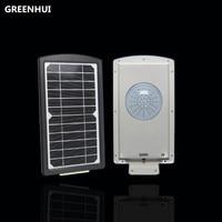 Hot Sale 49 LEDs Solar Street Light PIR Motion Sensor Integrated Solar Lamp Garden Decoration Lamps