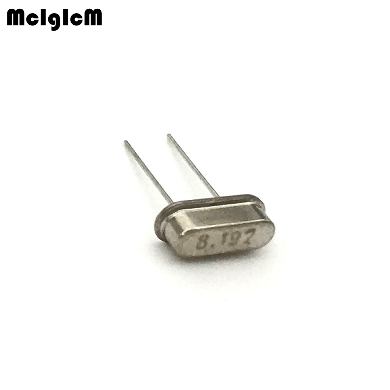 1000pcs hc 49s 8 192MHz 20ppm 20pF quartz resonator