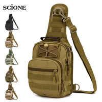 Tactical bag Molle Fishing Hiking Backpacks Hunting Bags Sports Chest Sling Shoulder Backpack Military Army Mochila Tas XA598WA
