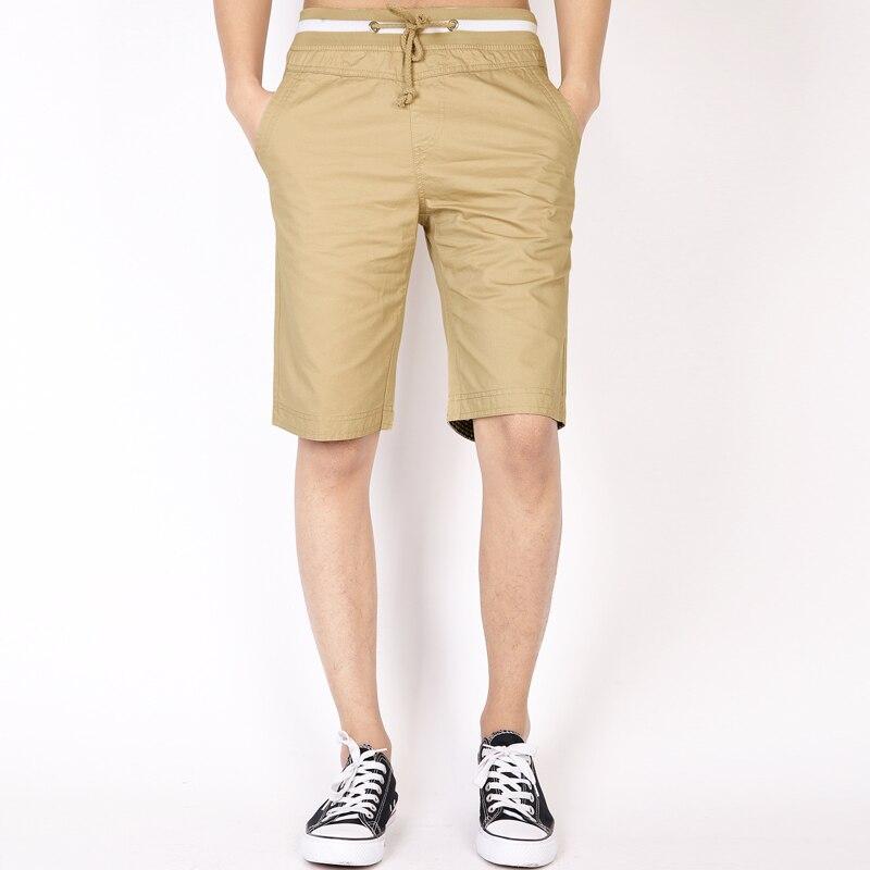 2018 New Fashion Mens Cropped Sweatpants Cotton Jogger Beach Shorts  Outdoors Spring Summer Shorts,