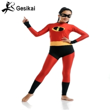 The Incredibles Costume High Elastic lycra spandex bodysuit lady bug halloween costumes