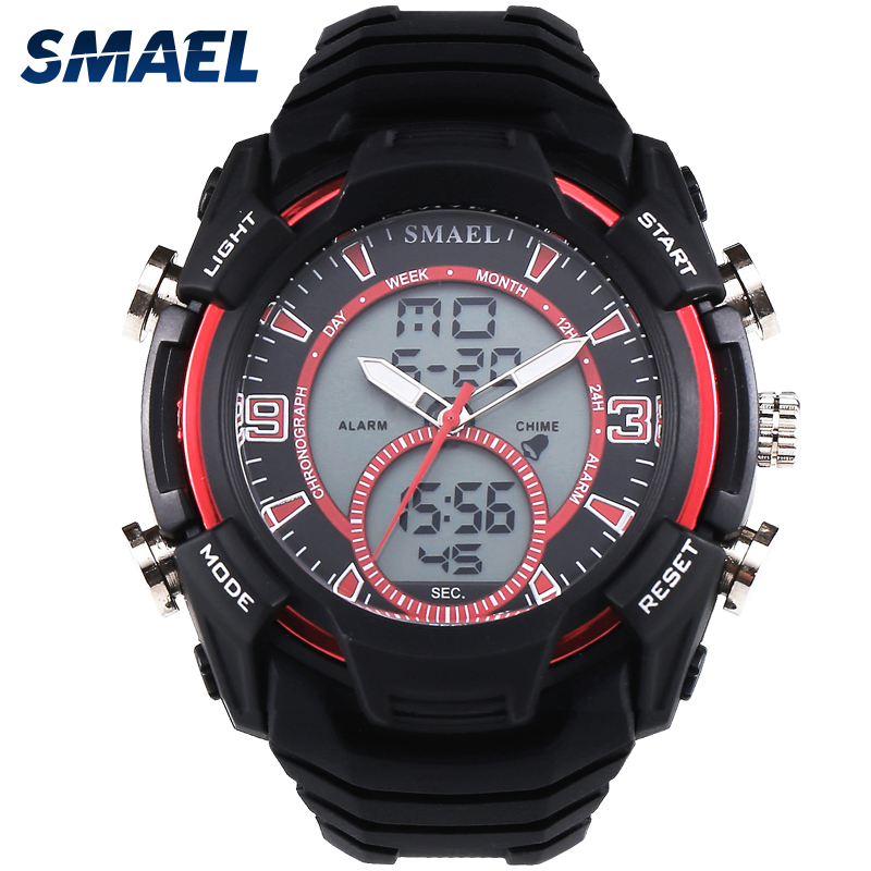 SMAEL Brand Sport Watches Waterproof LED Digital Wristwatch S Shock montre homme relogio militar relogios masculino Gifts WS1349 ...