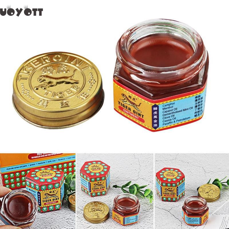 100% Natural Tiger Balm Painkiller Ointment Muscle Pain Relief Ointment Soothe Itch Body Pain Cure Tiger Balm