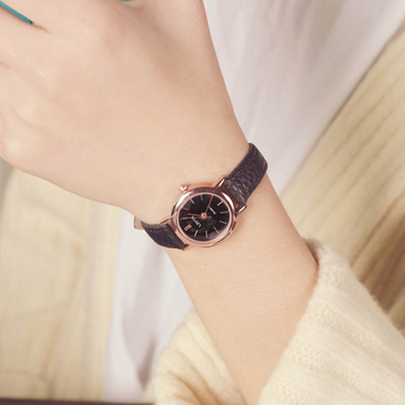 Temperament fashion ladies middle school student small wrist watches for women  Fashion & Casual Chronograph Buckle
