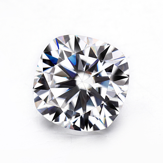 Us 360 0 Top Quality Cushion Brilliant Cut 10 5x10 5mm Ef Color Lab Grown Moissanites Diamonds For Jewelry Ring In Loose Diamonds Gemstones From