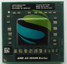 AMD Quad-Core A8 3500 M Série A8-3510MX A8 3510MX AM3510HLX43GX Laptop CPU 1.8 GHz/4 M/ quad Core FS1 notebook APU para Notebooks