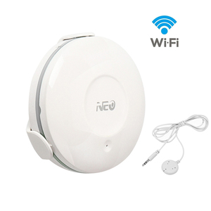 Image 1 - NEO Smart WiFi Water Flood Sensor Water Leakage Detector App Notification Alerts for Home Smart Living