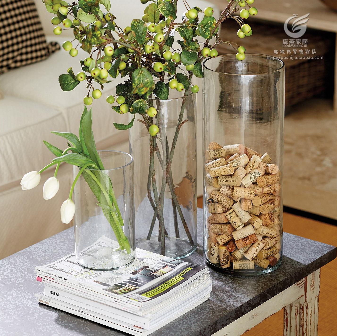 que mettre dans un grand vase en verre fashion designs. Black Bedroom Furniture Sets. Home Design Ideas