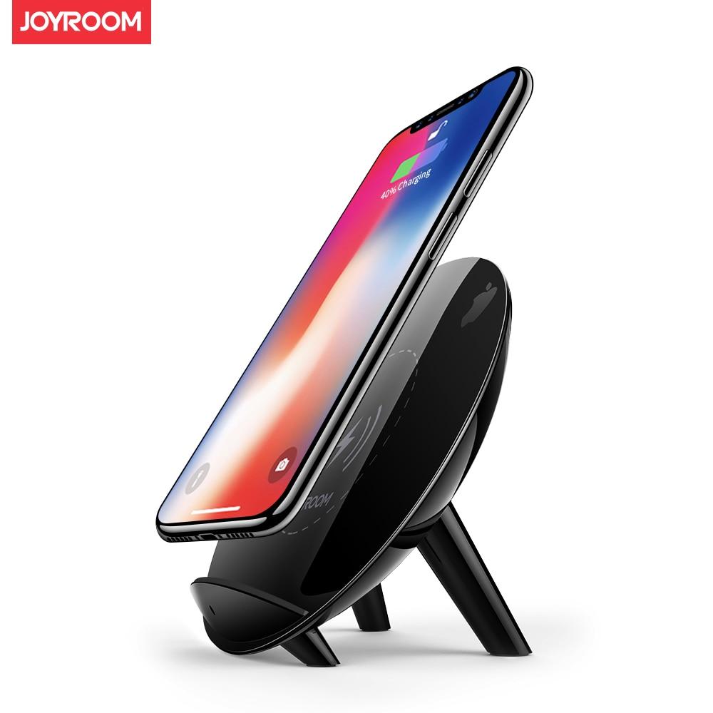 Joyroom 10 W Qi chargeur sans fil pour iPhone X 8 Plus rapide USB sans fil chargeur pour Samsung Galaxy S8 Plus Note 8 S6 S7 Edge +