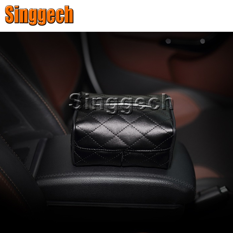 1X Car Tissue Paper Box Holder For Nissan Qashqai X-TRAIL Juke TIIDA Note Almera March For Mazda 3 6 2 CX-5 CX5 CX-7 Accessories