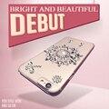 2017 new fashion para iphone 6 6 s sonho de diamantes brilhantes cather estilo case para iphone 7 4.7 polegadas tela livre protetor