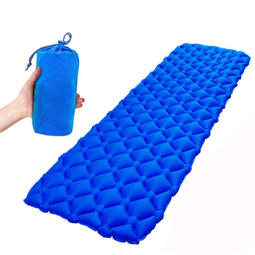 Air Mattress Inflatable Bed For Tent Portable Ultralight