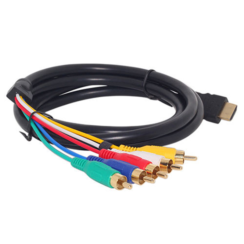 Mayitr 1pc 15m hdmi male to 5 rca cable gold plated plug hdmi to mayitr 1pc 15m hdmi male to 5 rca cable gold plated plug hdmi to rca sciox Gallery