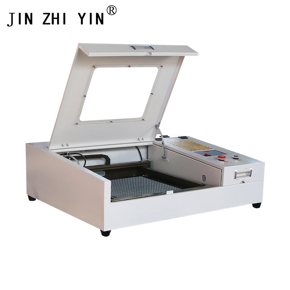 CNC 50W 110mm 400 Laser Fiber Engraving Cutting Machine Working Size 220/400 V Laser For Wood MDF Acrylic Glass Plastic Paper