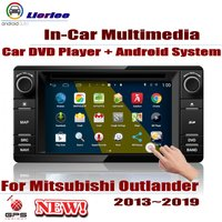 For Mitsubishi Outlander 2013~2019 Car Android Player DVD GPS Navigation System HD Screen Radio Stereo Integrated Multimedia