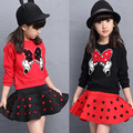 2 Piece Set for Girls Clothes Set 2016 New Spring Autumn Children's Clothing Sets Girls Kids Clothing Children Long Sleeve Suits